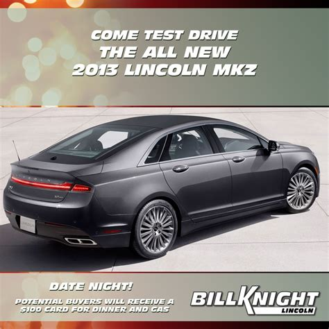 Lincoln Test Drive Gift Card - 14 best images about 2013 lincoln mkz on pinterest cars date nights and knight