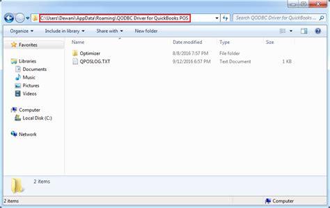 quickbooks sdk tutorial c qodbc desktop how to locate log files of qodbc for
