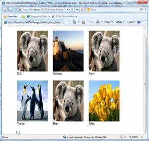 How to create image gallery in asp net 3 5 chandradev s blog