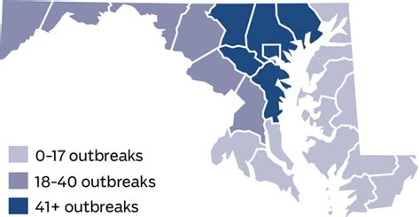 maryland flu map snapshot of flu in maryland baltimore sun