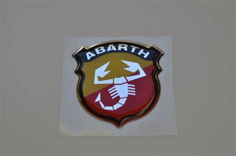 3d Aufkleber Abarth by 3d Aufkleber Abarth Wappen