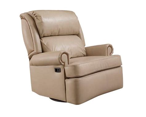 leather recliners made in usa leathercraft 2057sr mathis heavy duty recliner made in america