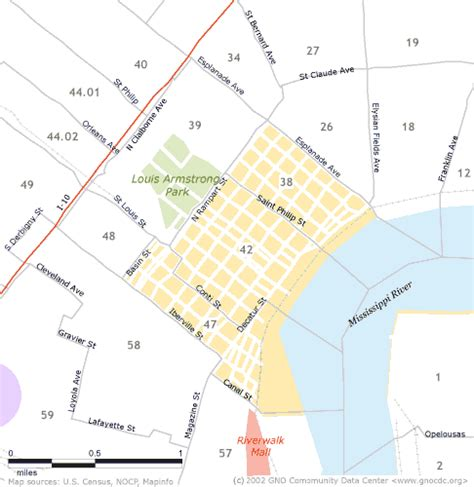 zip code map new orleans french quarter maps