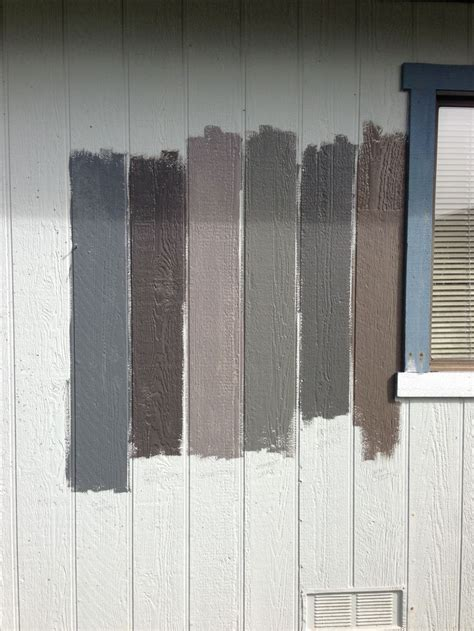 left to right gun metal iron mountain granite amherst gray kendall charcoal creek