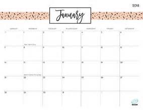 Calendar 2018 Printable Imom Pretty Patterns 2018 Printable Calendar Imom