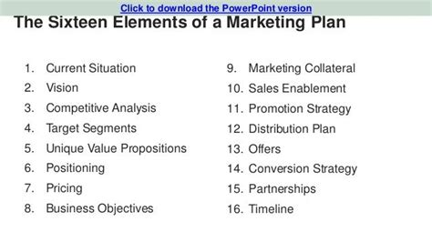 marketing plan template startup startup marketing plan template search