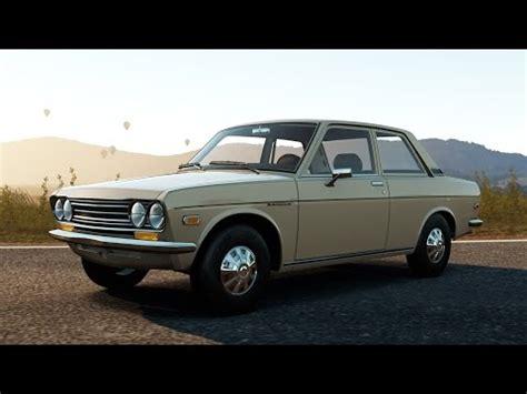 nissan datsun 1970 offroad silly builds 1970 nissan datsun 510 forza