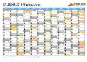Kalender 2018 Ferien Feiertage Niedersachsen Kalender 2018 Niedersachsen Zum Ausdrucken 171 Kalender 2018