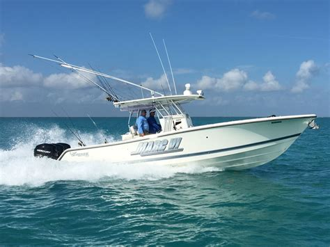 mako boats shallow water george poveromo s personal boat the marc vi