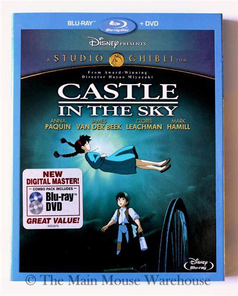ponyo blu ray slipcover studio ghibli laputa castle in the sky blu ray dvd no