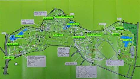 Singapore Botanic Gardens Map Gif Singapore Botanical Garden Map