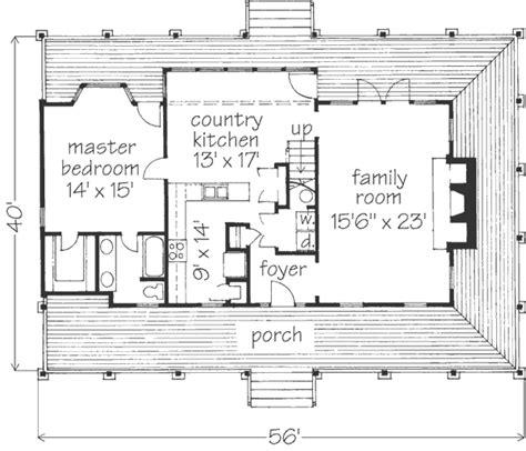 Vernacular House Plans Vernacular Cottage J Dean Winesett Southern Living House Plans