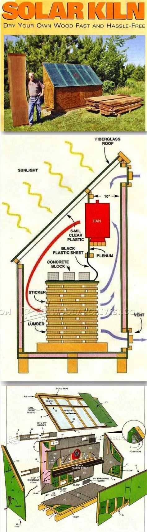 solar kiln plans woodworking tips  techniques