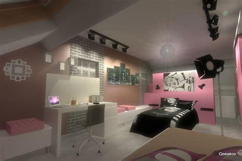 Chambre Ado Fille Mezzanine