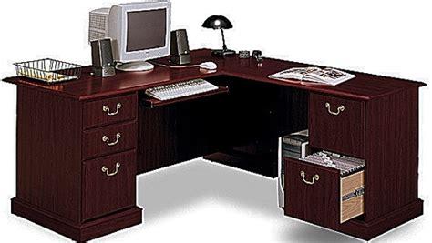bush l shaped desk bush ex45670 03k l shaped corner desk