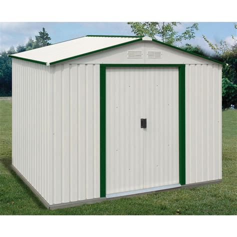 Duramax Sheds For Sale by Duramax 174 8x6 Titan Metal Shed With Foundation 130896 Sheds At Sportsman S Guide