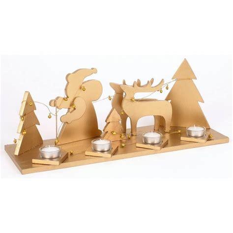 deko teelichthalter holz deko teelichthalter gold m 246 bel wohnen dekoration