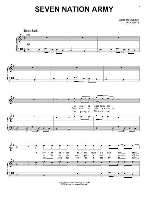 drum tutorial seven nation army ноты 7 nation army лучшие ноты at ноты более 7 тис разных
