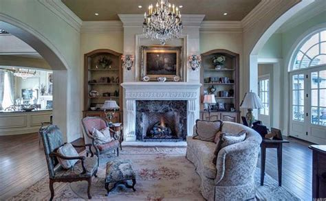 the living room st louis 15 000 square foot stone mansion in saint louis missouri