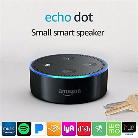 Echo Black Original Smart Speaker Multimedia echo dot 2nd generation smart speaker with black import it all