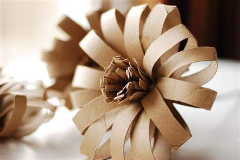 Toilet Paper Roll Flowers Craft - recycled toilet paper flower craft craft ideas