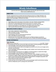 Resume Examples For Flight Attendant Flight Attendant Resume Free Layout Amp Format