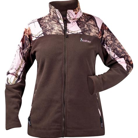 pink mossy oak jacket brown pink mossy oak camo rocky fleece jacket pink