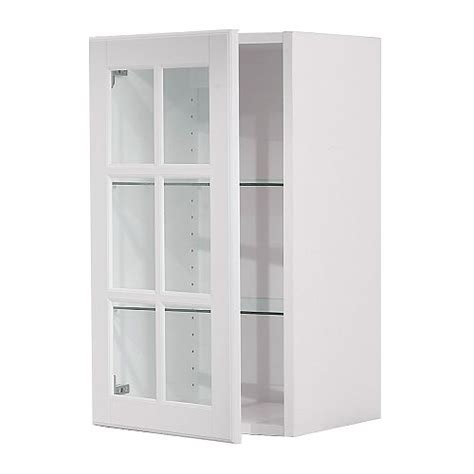 Glass Front Cabinet Doors Ikea Nazarm Com Kitchen Wall Cabinet With Glass Doors