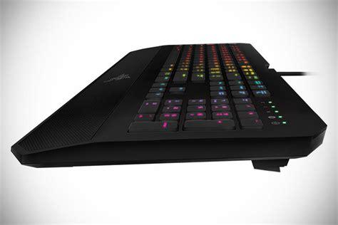 Keyboard Razer Deathstalker razer adds colored lighting into deathstalker gaming keyboard and orbweaver keypad mikeshouts