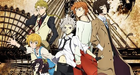 bungo stray dogs bungo stray dogs big order simulcasts on aniplus asia