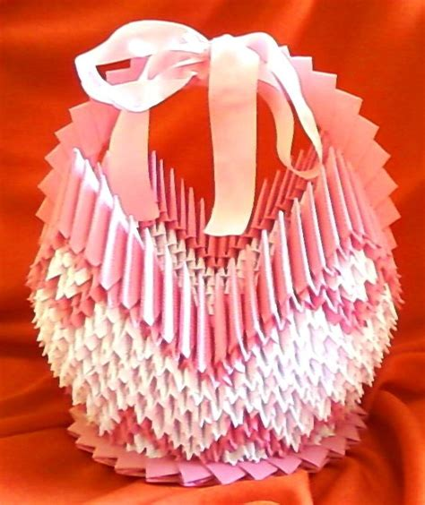 Origami Basket - origami basket by pheodelugher on deviantart