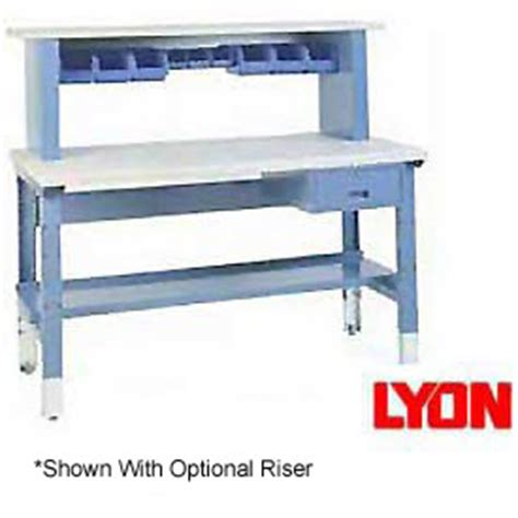 lyon work bench lyon 174 premium grade adjustable height workbenches