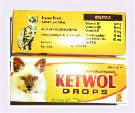Vitamin Kucing Vitagel By Nd Pets jual vitamin bulu kucing ketwol nd pets