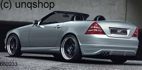 rear bumper mercedes slk