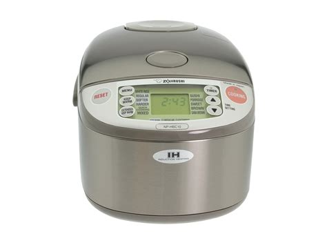 zojirushi induction heating system 5 5 cup rice cooker and warmer zojirushi np hbc10 5 5 cup induction heating rice cooker warmer shipped free at zappos