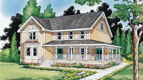 Farmhouse House Plans by Queen Anne Victorian Houses Country Farmhouse Victorian