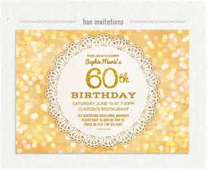 60th birthday invites free template 60th birthday invites wblqual