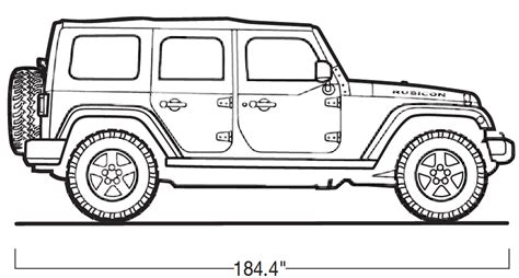 how to draw a army jeep 2008 jeep wrangler sideview 4door jpg 85247 945 215 507