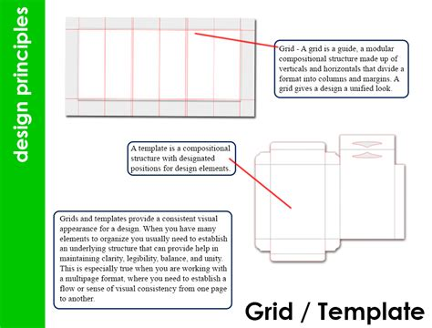 grid layout html template applying design principles