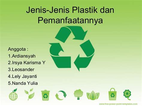 Jenis Dan Karpet Plastik jenis plastik dan pemanfaatannya