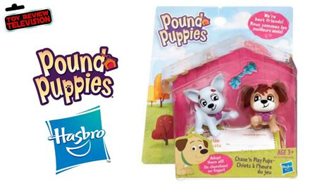 pound puppies toys pound puppies figures pack by hasbro review unboxing