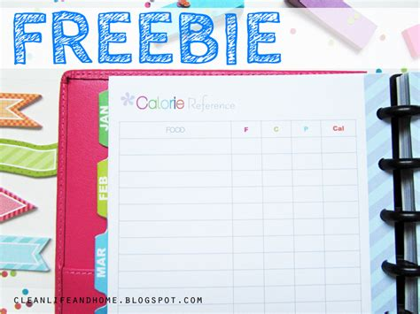 printable pregnancy journal template clean life and home freebie friday calorie reference