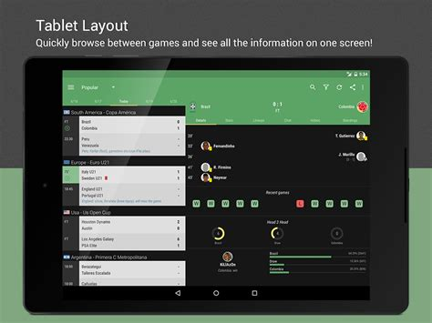 livescore android livescore for android