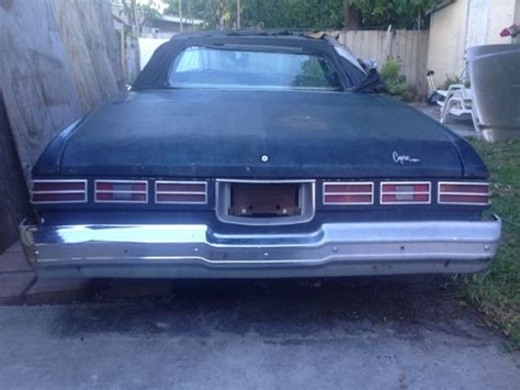 donk chevrolet 1975 chevy caprice convertible donk