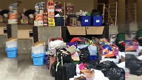 donaciones de ropa  alimentos  afectados por harvey telemundo dallas