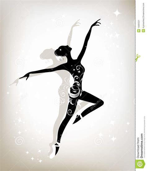 ballet dancer for your design stock image image 19384221