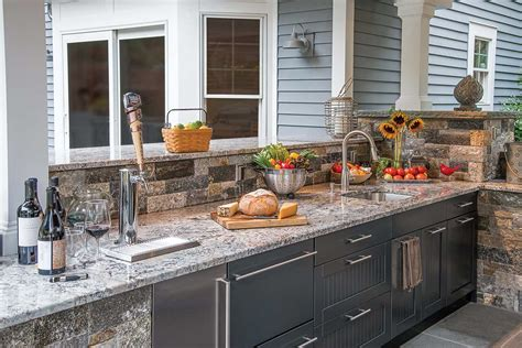 outdoor kitchen countertops outdoor kitchen countertops brown outdoor kitchens
