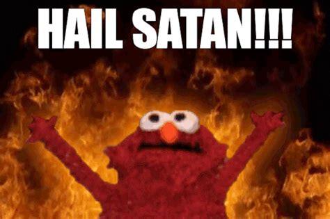 Hail Satan Meme - puta b ida completa 191 escapada no creo funny gifs
