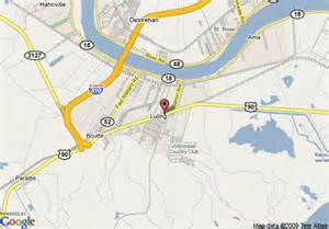 map of 8 motel luling louisiana luling