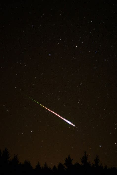 the spectacular leonid meteor shower live